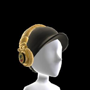 Ti Gold Foil Rasta Headphones