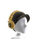 Ti Gold Foil Rasta Headphones