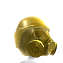 Gas Mask Gold