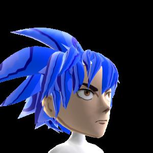 Epic Anime Hero 3 Blue Chrome