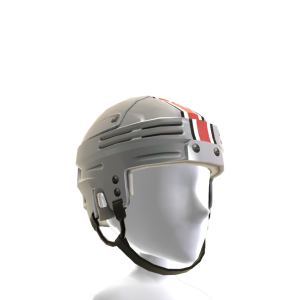 Ohio State Hockey Helmet