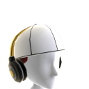 Reverse Cap with Headphones