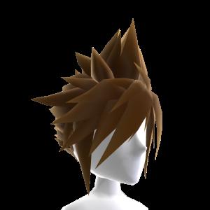 Anime Hero Hair - Brown