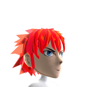 Epic Anime Hero 2 Red Chrome