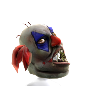 Clown Zombie Mask