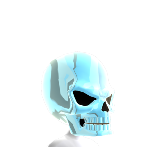 Epic Skull Helmet Chrome