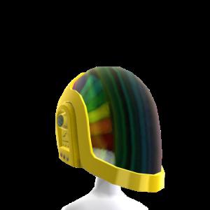 Gold Robot Helmet