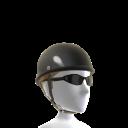 Black Skull Cap