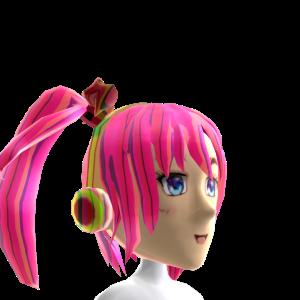 Anime Headphone Pink Chrome