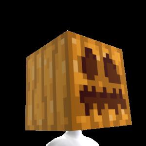 Minecraft Tête de citrouille