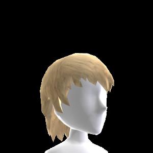 Shaggy Blonde Hair