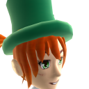 Epic St Pattys Top Hat Anime