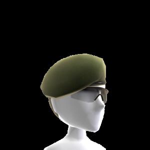 Beret and Sunglasses - Green