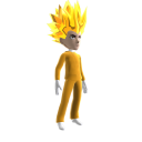 Anime Hero Suit Gold 1