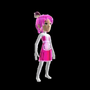 Anime Chrome Maid Pink