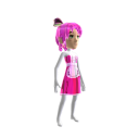 Anime Chrome Maid Pink