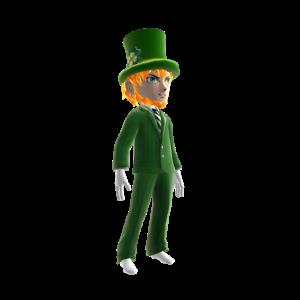 2017 St Patricks Day Leprechaun
