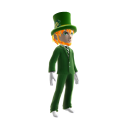 2017 St Patricks Day Leprechaun