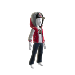 Ohio State Jacket and Hat