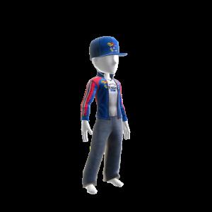 Kansas Track Jacket and Hat