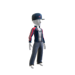 Blue Jackets Track Jacket and Hat