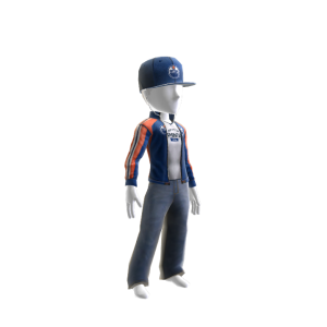 Oilers Track Jacket and Hat