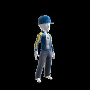 UCLA Track Jacket and Hat