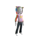 Rainbow Unicorn Hoodie - Pink