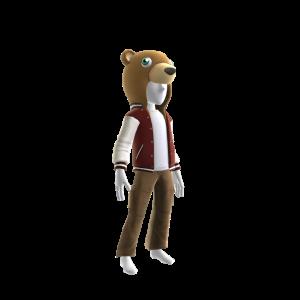 Bear Varsity Jacket