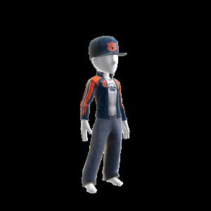 Auburn Track Jacket and Hat