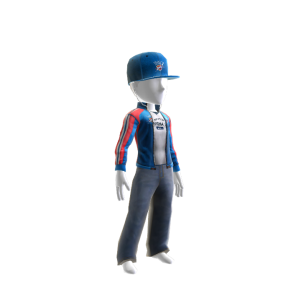 Thunder Track Jacket and Hat