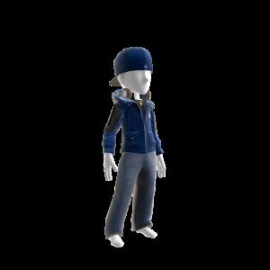 Lightning Team Jacket and Hat