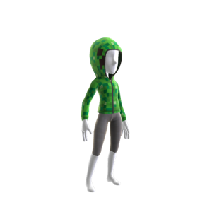 Minecraft Sudadera con capucha de Creeper