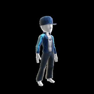 Villanova Track Jacket and Hat