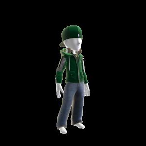 Celtics Team Jacket and Cap