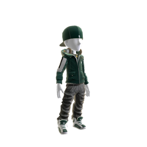 Michigan State Team Jacket and Cap