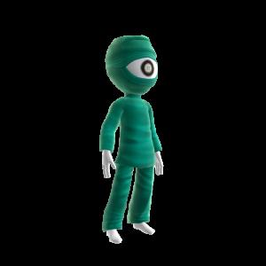One-eyed Alien Costume