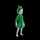 Frosch-Regenmantel