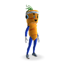 Костюм морковки для талисмана