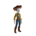 Sherriff Woody Costume