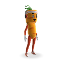 Carrot Mascot Outfit