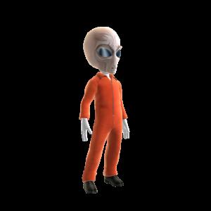 Alien Jumpsuit Costume