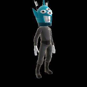Four-eyed Alien Costume