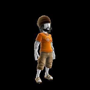 Dude Chilling Guy - Orange