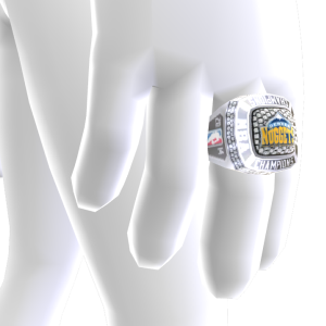 Nuggets Championship Ring