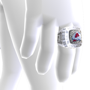 Avalanche Championship Ring