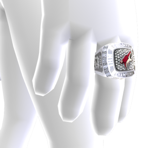 Coyotes Championship Ring