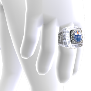 Oilers Championship Ring