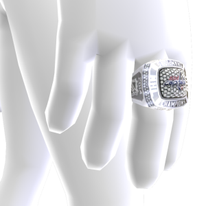 Capitals Championship Ring