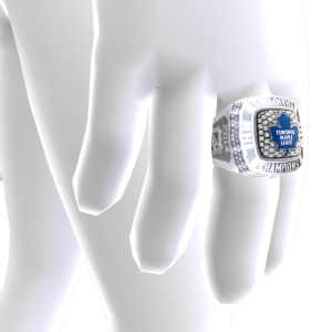 Maple Leafs Championship Ring